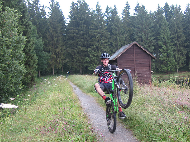 Mountainbiken Harz, bad grund, froehlich harz